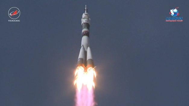 С Байконура успешно стартовалСоюз МС-09 - трансляция полета
