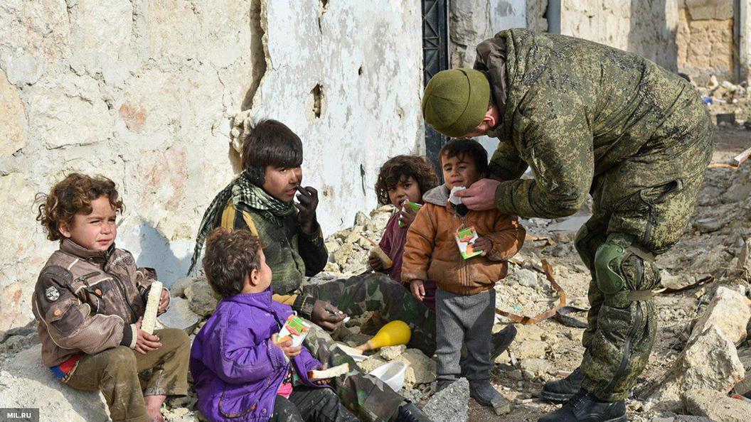 Вместо пустых докладов: Россия доставила в Сирию более 20 тонн гумпомощи ООН