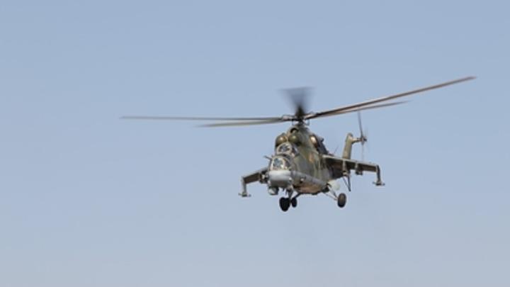 Рядом с Курганом вертолеты выпустили неуправляемые ракеты