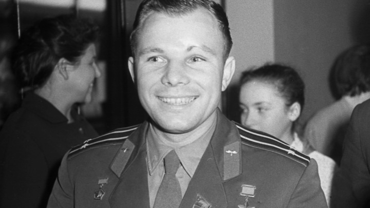 Таким Гагарина мир не видел: Опубликовано уникальное видео с посланием США