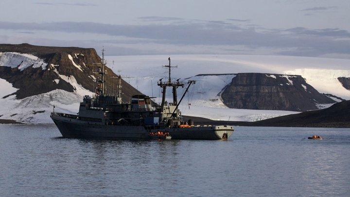 В Арктике нашли кофейное послание от американцев