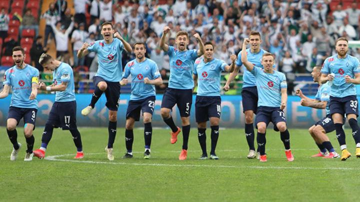 В Нижнем Новгороде Крылья Советов не смогли выиграть Кубок России по футболу