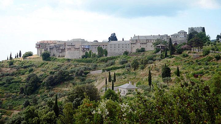 «Пятая колонна» Святой горы Афон