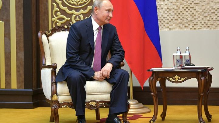 Саммит СВМДА: Путин прибыл во дворец Навруз в Душанбе на Аурусе