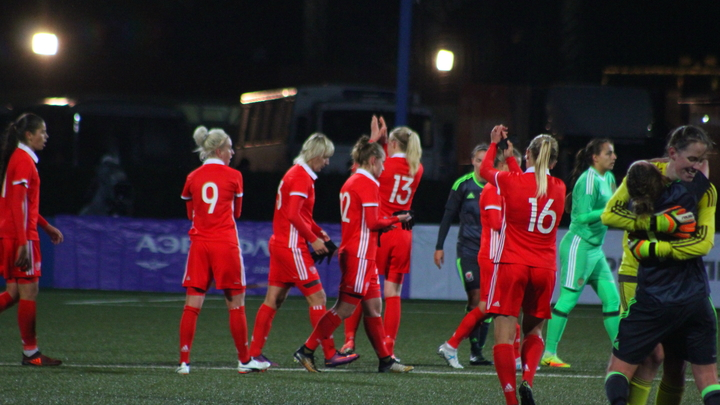 Женская сборная Беларуси разгромила команду Кипра в матче-квалификации на ЧМ-2023