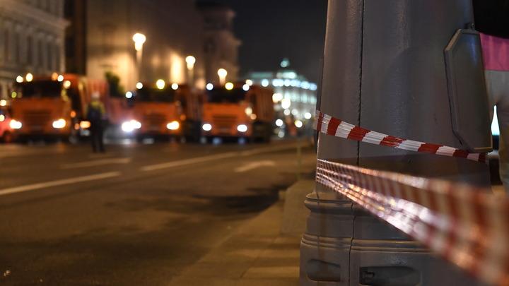 В Минске водитель спортивного Роллс Ройса снес столб и оказался в больнице