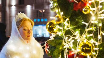 В центре Москвы покажут рождественские видеоролики