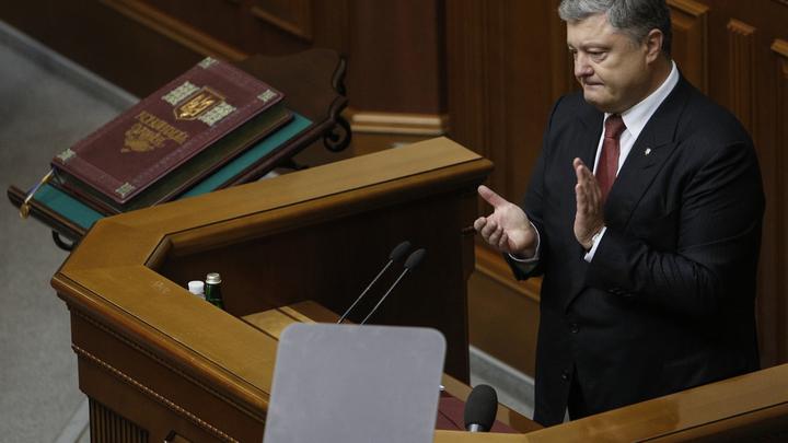 «Мы вернем Крым»: Порошенко обещал изгнать флот России из Севастополя
