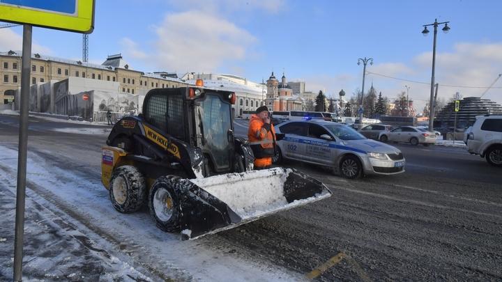 Росавтодор протестирует новую дорожную разметку в зимних регионах России