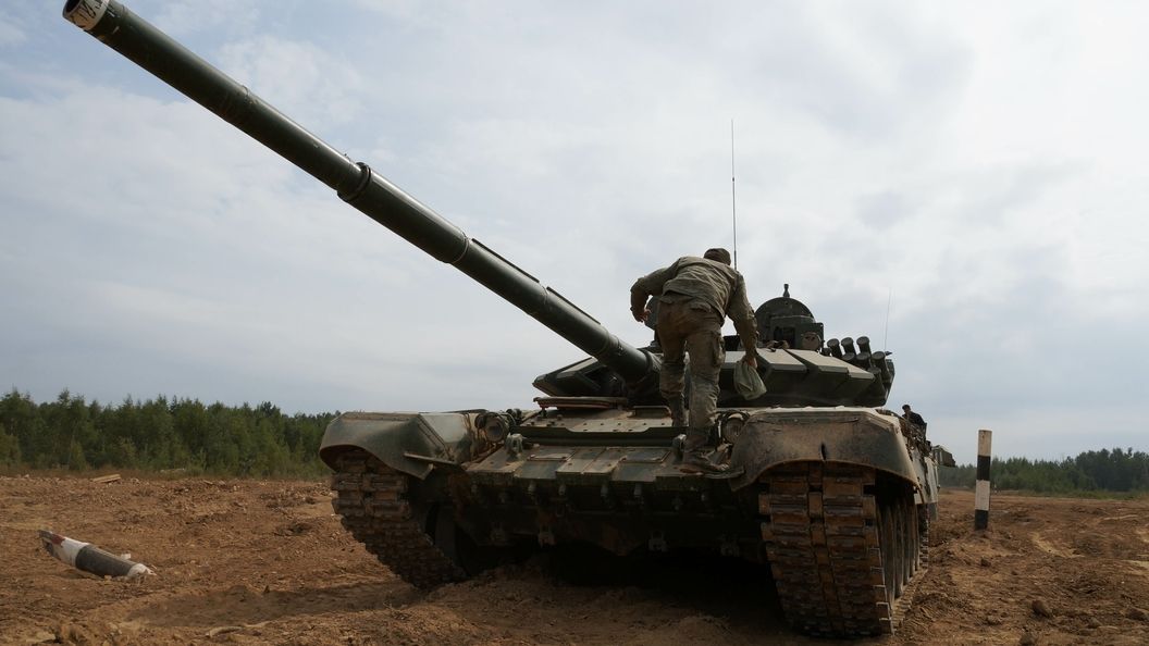 Украина собралась стрелять по Донбассу из танков, которые русские ввели в Германию