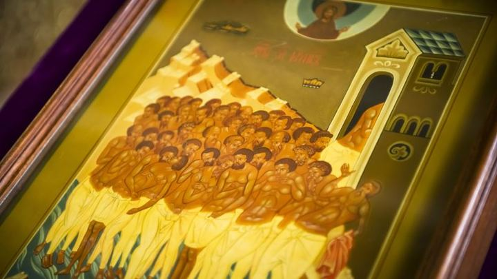Жаворонки. Память 40 мучеников, в Севастийском озере мучившихся. Церковный календарь на 22 марта