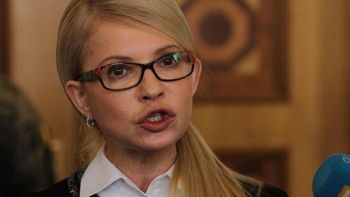 Тимошенко разработала для Саакашвили план возвращения на Украину