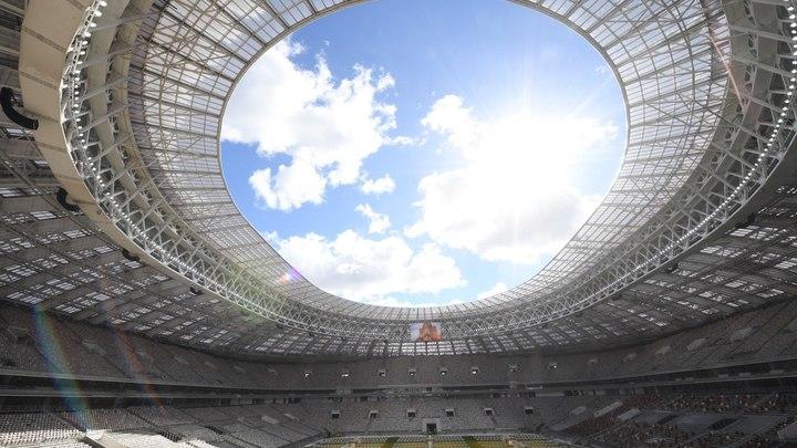 Появилось видео обновленного стадиона Лужники за несколько часов до открытия