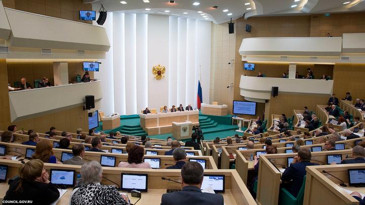 Из-за правительства Совфед не может утвердить создание реестра чиновников-коррупционеров