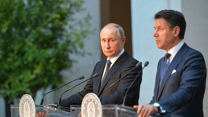 Лучший момент пресс-конференции: Путин божественно опустил на землю президента Гуайдо