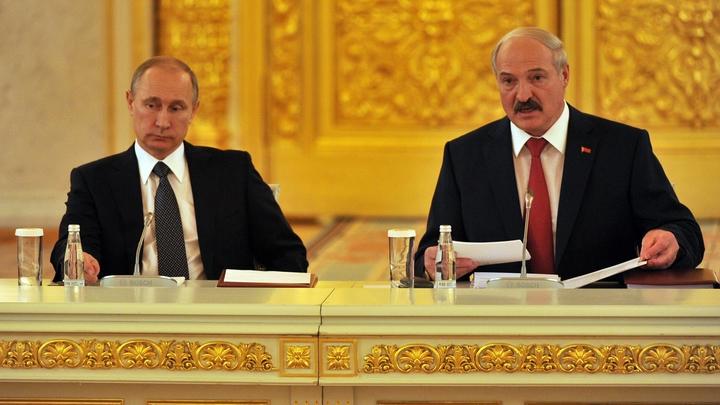 Единые правила: Путин выступил за союзное правовое пространство с белорусами