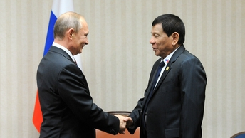 Дутерте похвастался антитеррористическим подарком Путина