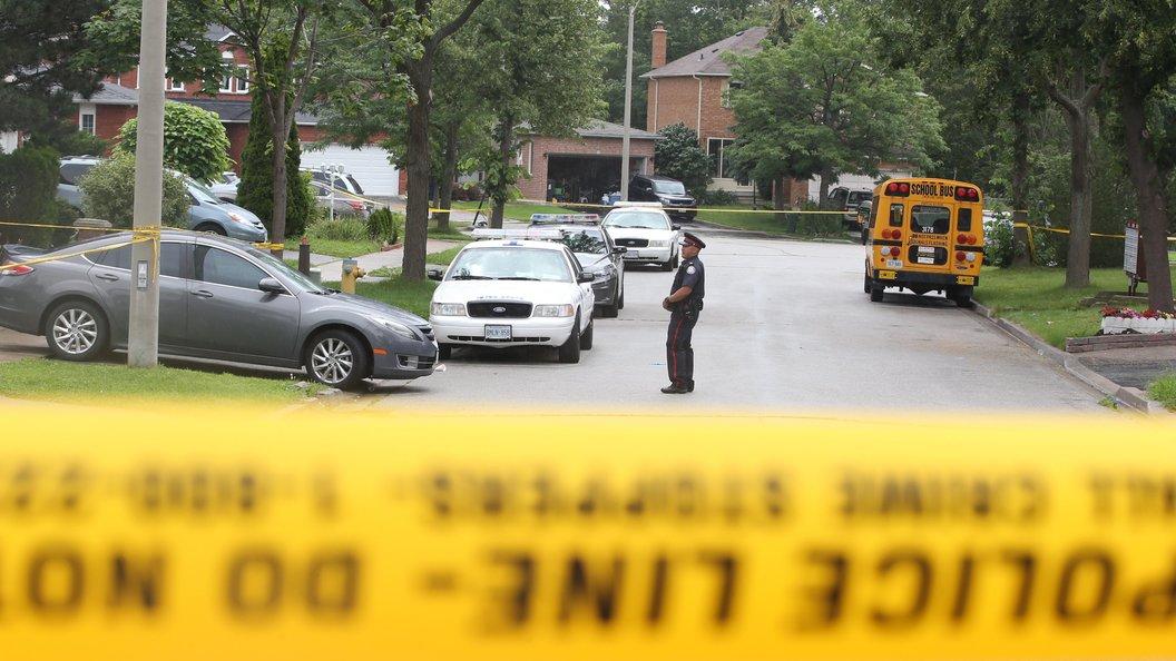 Вовремя перестрелки вКанаде умер полицейский