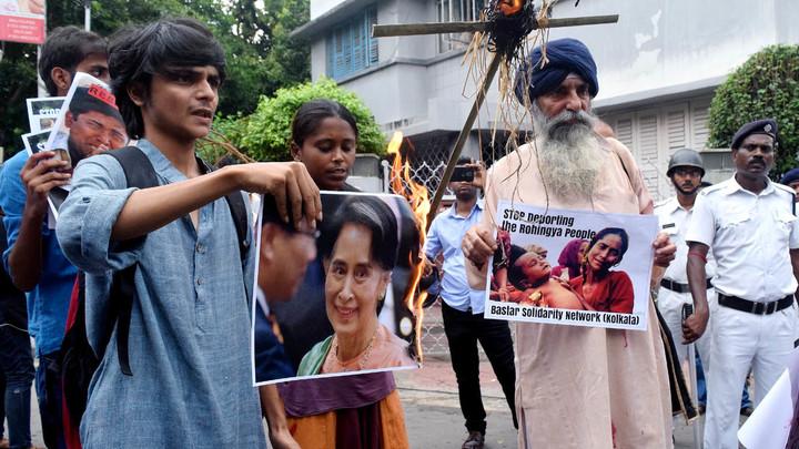 За последние дни в Мьянме более тысячи человек стали жертвами геноцида