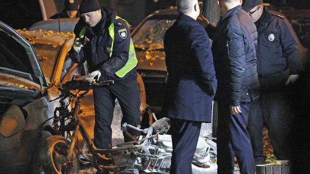 Покушение на Мосийчука готовилось тщательно: МВД Украины изучает видео с места взрыва в Киеве