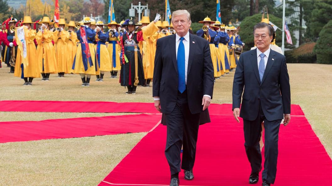 Трамп объявил оготовности США кпереговорам сКНДР