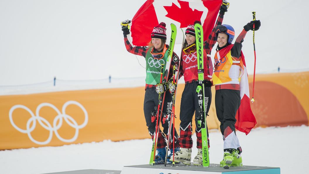 Канадская фристайлистка Серва завоевала золото Олимпиады-2018 вски-кроссе