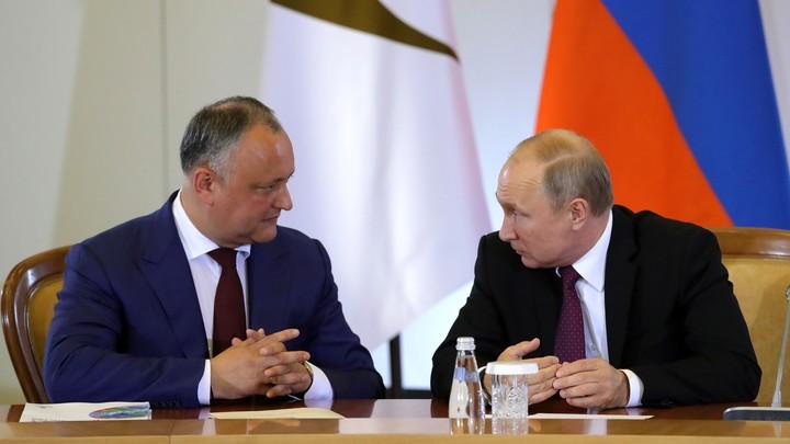 Дайте скидку: Президент Молдавии поедет к Путину за новым газовым контрактом