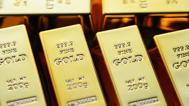 Цены на золото растут из-за снижения курса доллара