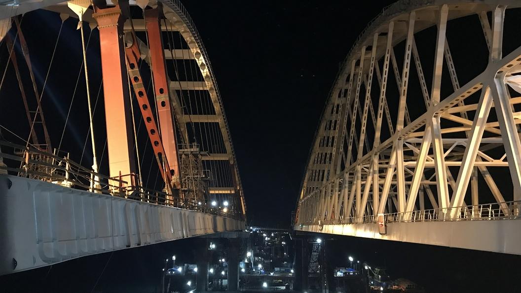 Профессионалы поведали, какие толчки способен выдержать Крымский мост