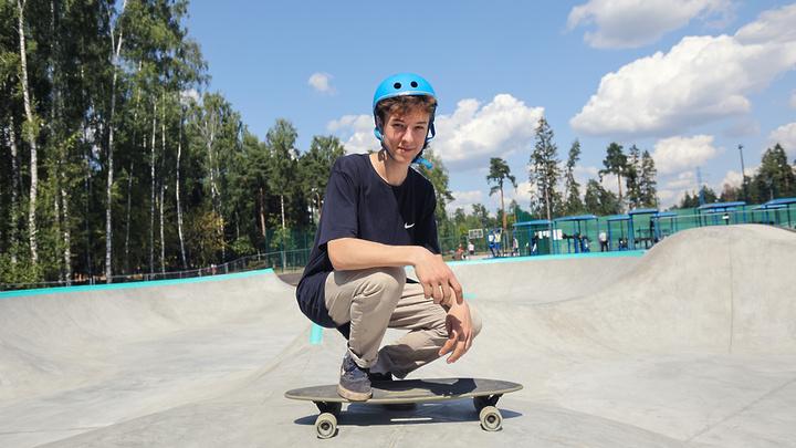 В Балашихе открылся самый большой скейт-парк Подмосковья