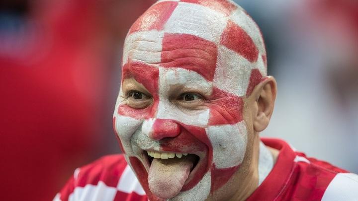 Англия vs Хорватия: болельщики в лицах