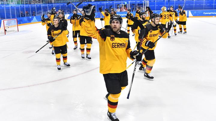 Сборная Германии сенсационно выиграла у шведов в полуфинале ОИ-2018