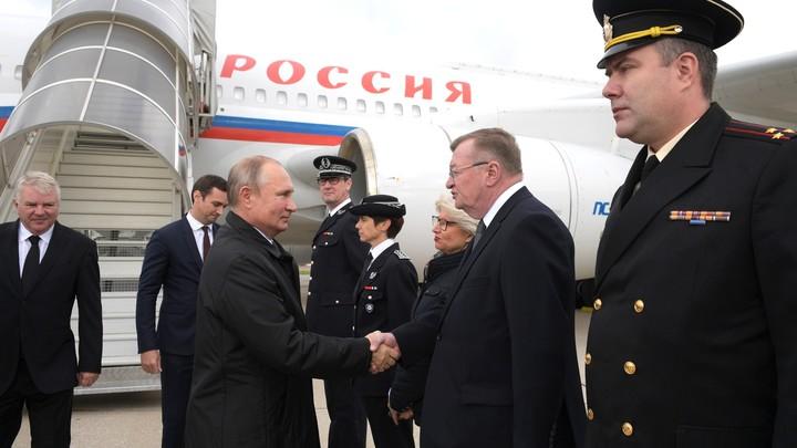 На долгую память: Французские силовики попросили сфотографироваться с Путиным