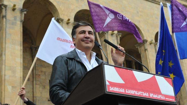 Я возвращаюсь!: Саакашвили сказал спасибо второй родине и обратился к сладкой Грузии