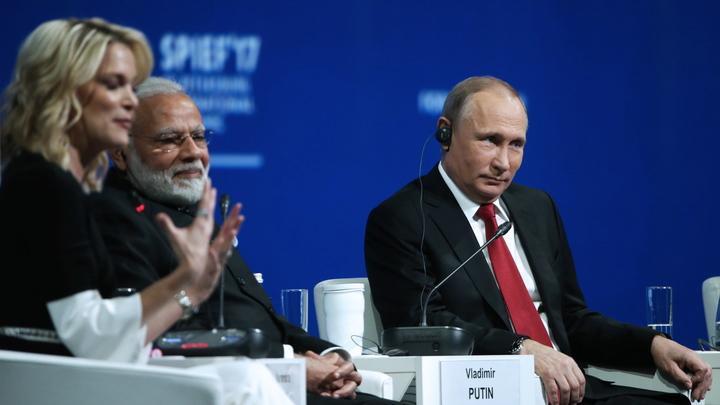 Журналистка NBC поделилась своим впечатлением от разговора с Путиным на ПМЭФ
