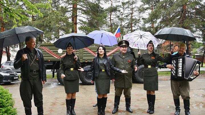 На Кубани провели почти 300 персональных парадов для ветеранов