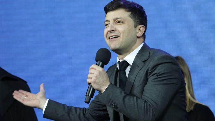 В России раскрыли, на каком языке Зеленский готовился к дебатам с Порошенко