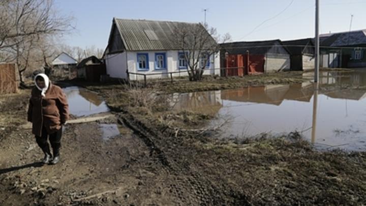 В районе Челябинской области из-за паводка ввели режим ЧС