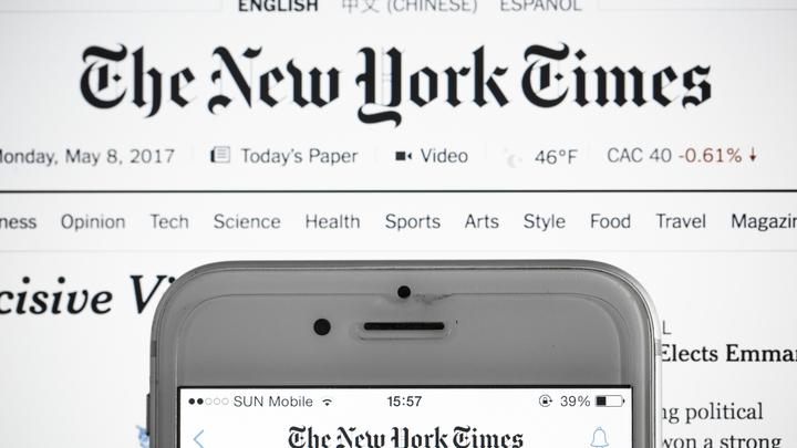 The New York Times должна ответить за свои слова!: Фейк про Афганистан вызвал ярость американцев