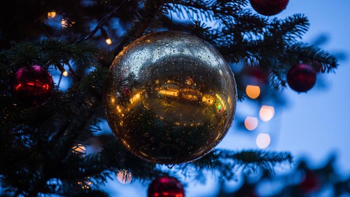На Новый год в Москве зажгут самый большой елочный шар в мире