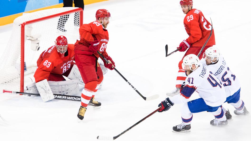 Кошечкин защитит ворота сборной Российской Федерации похоккею вфиналеОИ