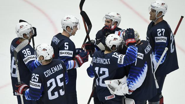 В североамериканском противостоянии на ЧМ за третье место победили хоккеисты США