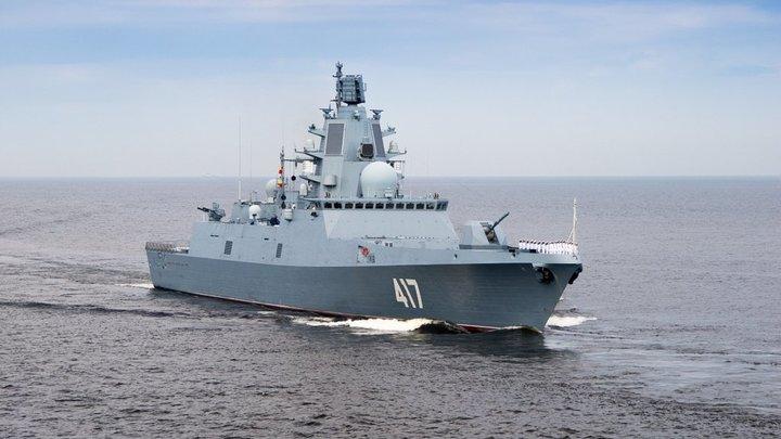 Может отправить на дно весь флот США: Западные СМИ встревожились из-за фрегата России в Азовском море