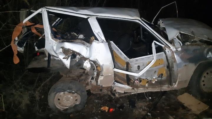 В Самарской области в пьяном ДТП погибла беременная женщина