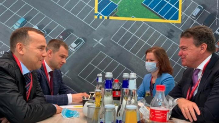 Губернатор Шумков пригласил в Курганскую область немецкую бизнес-миссию
