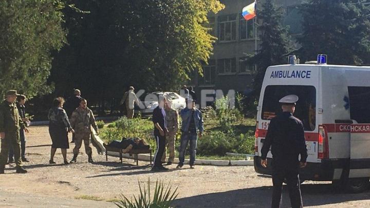 Взрыв в Крыму. Очевидцы публикуют первые видео с места происшествия