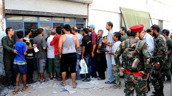 Подготовлен выход мирных сирийцев из«заповедника гоблинов»