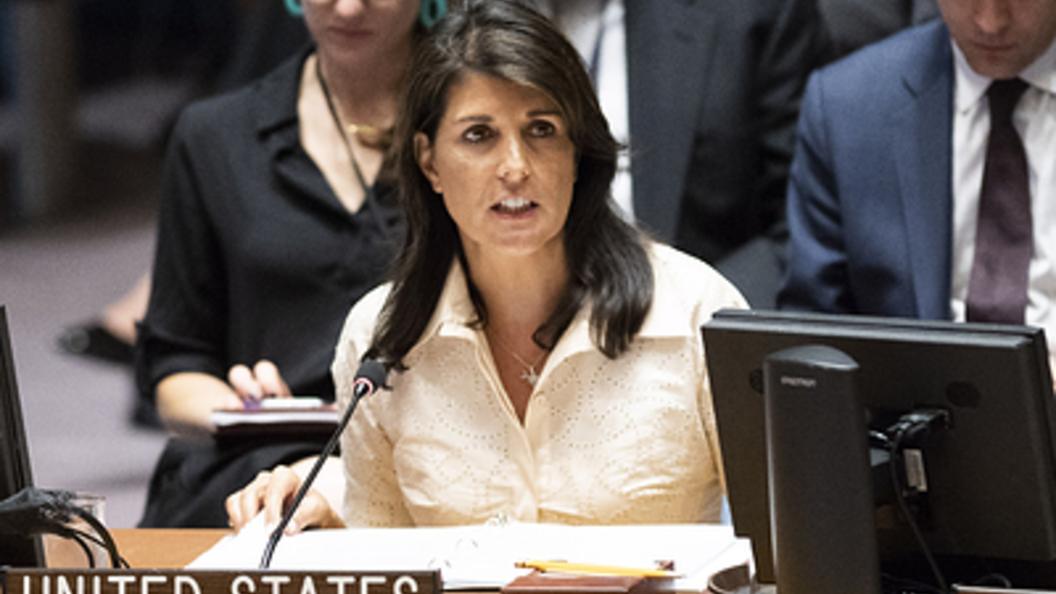США ветировали резолюцию поИзраилю вСовбезе ООН