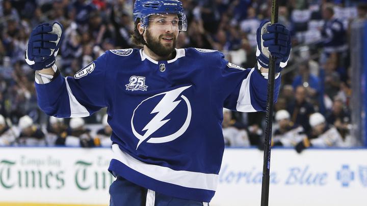 Кучеров стал шестым русским в НХЛ, набравшим 100 очков за сезон