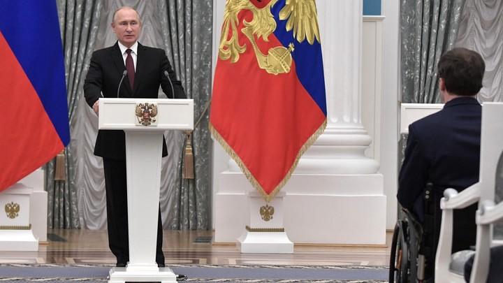 Мы готовы вместе идти вперёд: Путин на предновогоднем вечере назвал главные события 2018 года